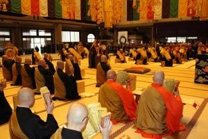 WFB世界仏教徒会議 世界平和祈願法要・記念式典(於 大本山總持寺)開催報告